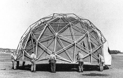 Geodesic dome Buckminster fuller