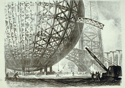 Hugh Ferriss metropolis of tomorrow